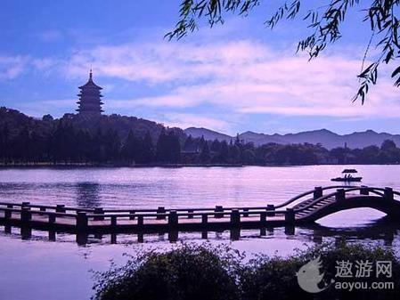 杭州最美风景区图片