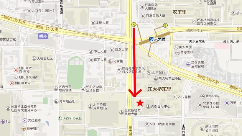 中青旅遨游东大桥门店如何走|交通路线GET