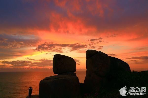 最值得守候的南麂岛海上日出