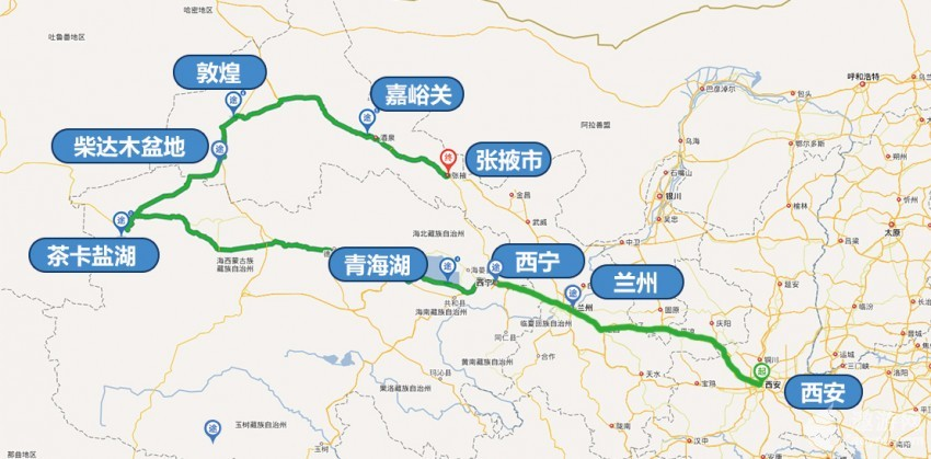 丝绸之路精品旅游线路