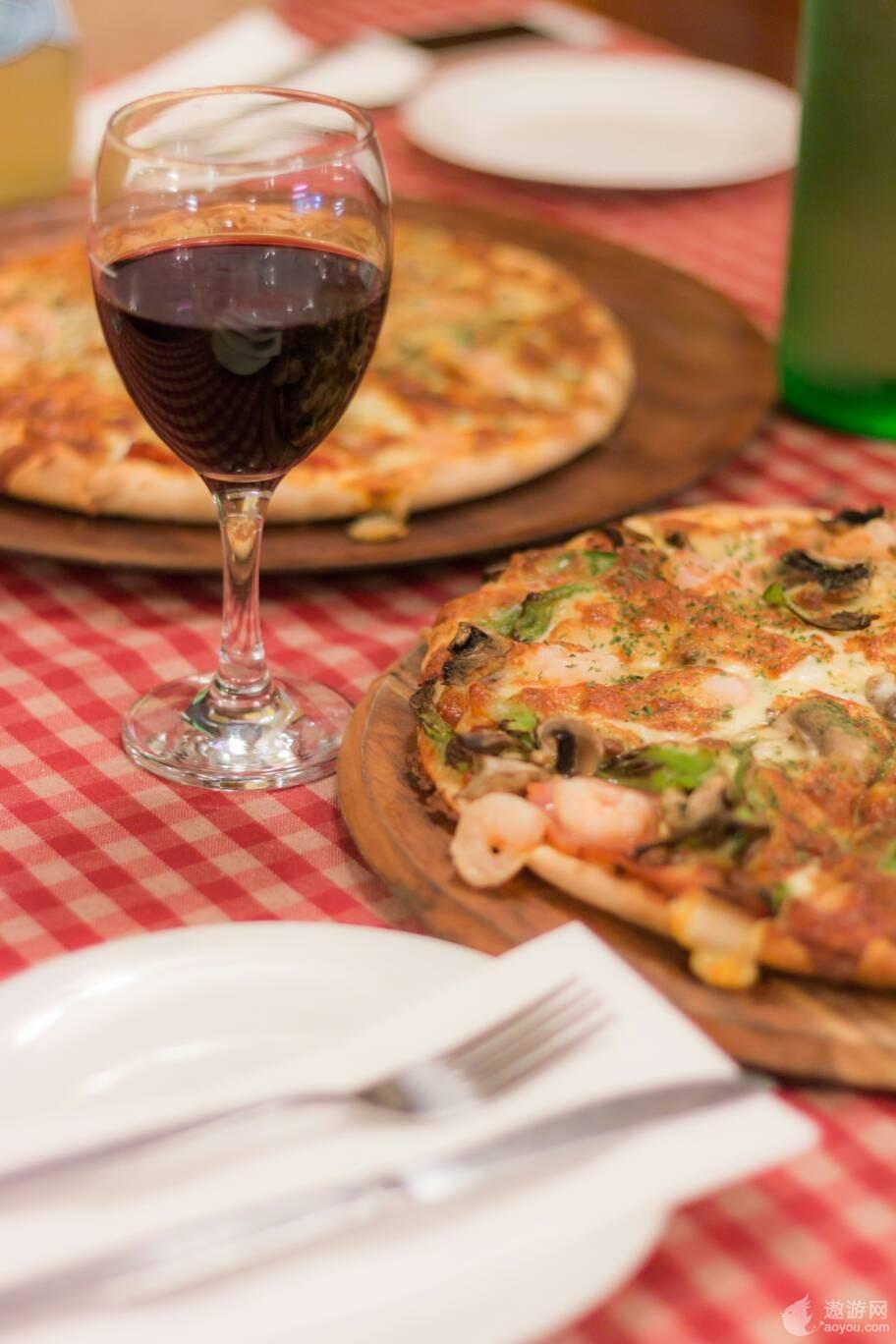 达尔文的意大利Pizza,不会后悔的美食