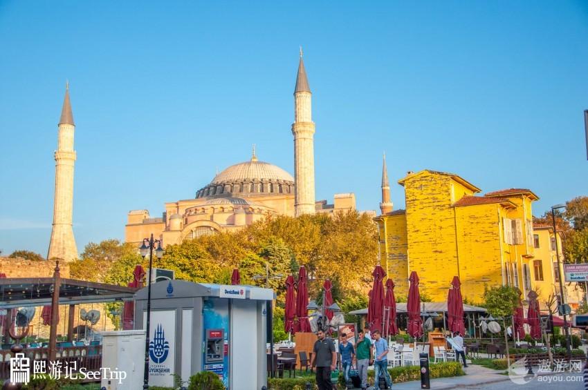 土耳其|蓝色清真寺:未用一根钉 却数次经历地震而不倒