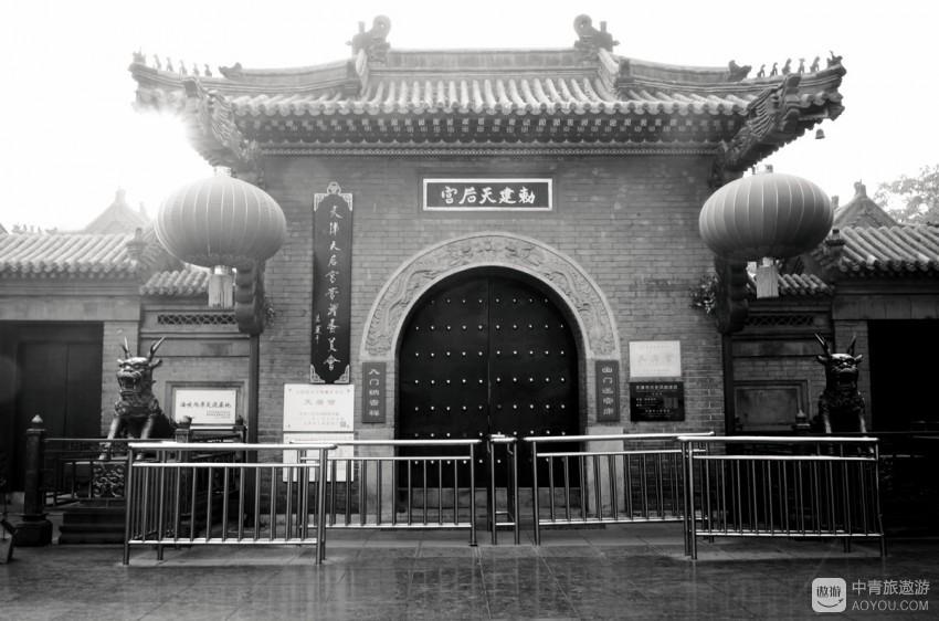 浓缩了天津历史的古文化街