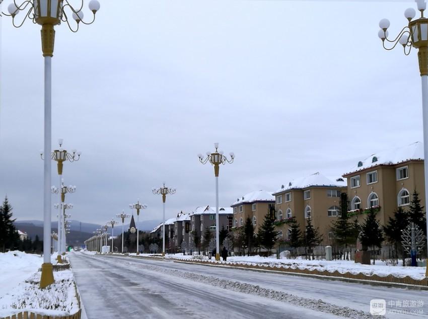 冰雪童话的阿尔山