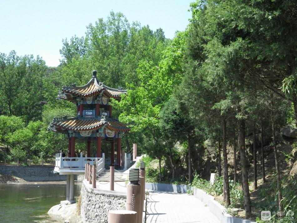 灵慧山风景区:一池碧水映亭阁,百合谷中欢乐多