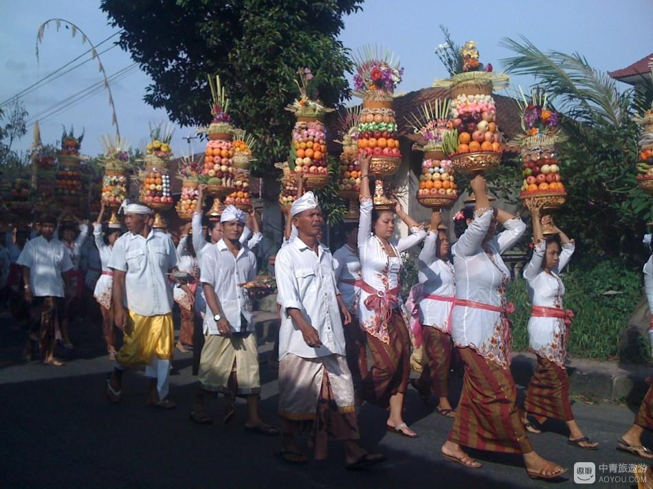 巴厘岛祭祀典礼