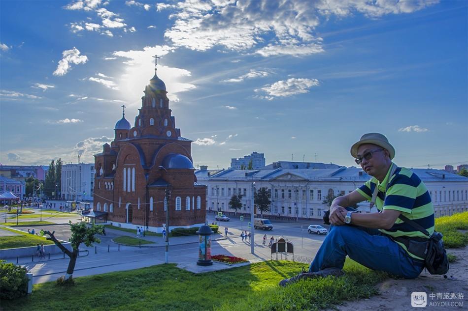 俄罗斯旅游~~在弗拉基米尔享受夕阳的光芒