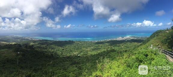 北纬15度的7色海-塞班岛