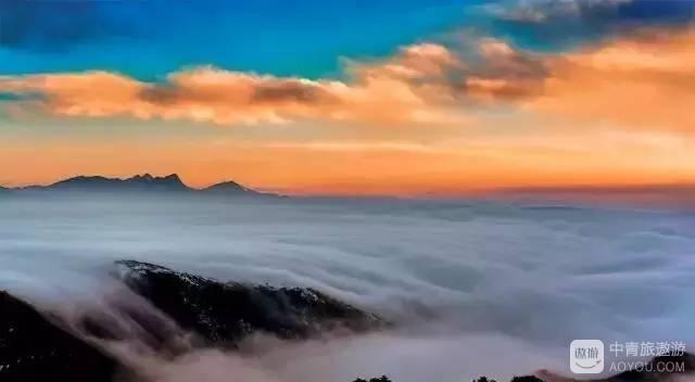 美到哭!原来轿顶山才是最佳高山观景平台!