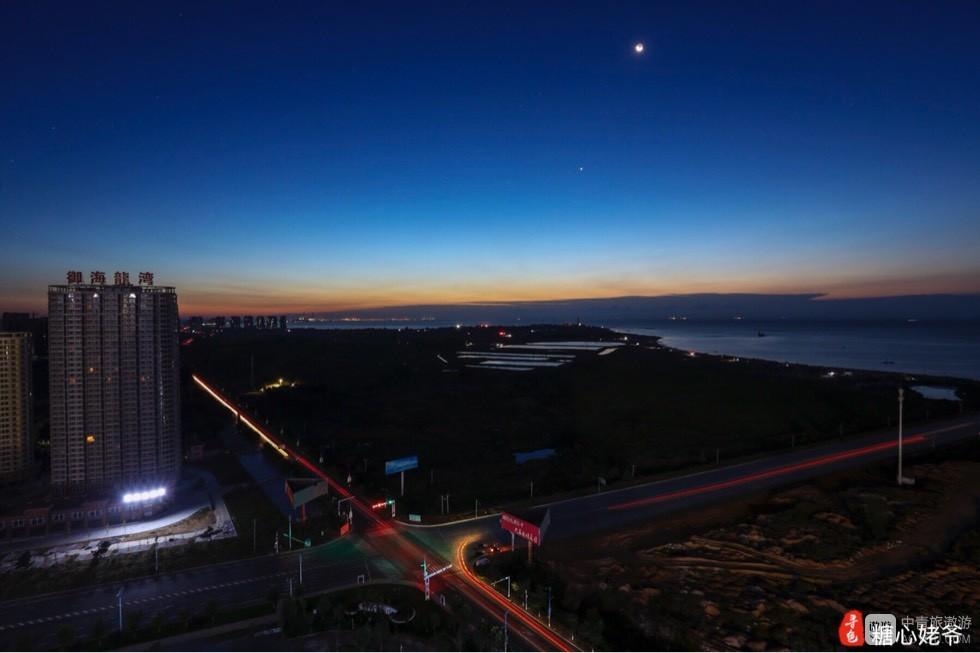 在东戴河山海同湾22号楼36层拍摄几张