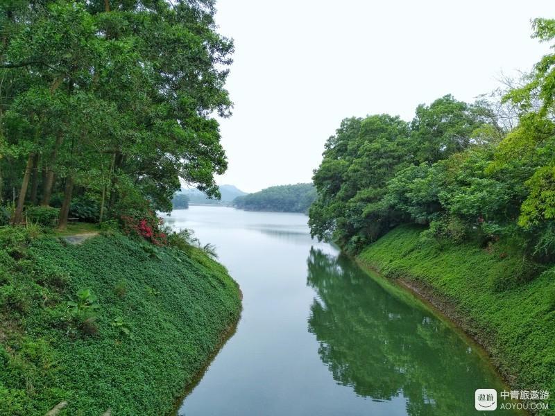 惠州红花湖,周末骑行徒步休闲之所