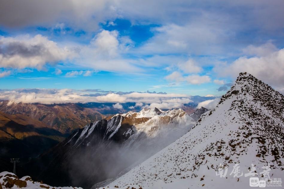 世界上海拔最高的缆车站,让你一步登天