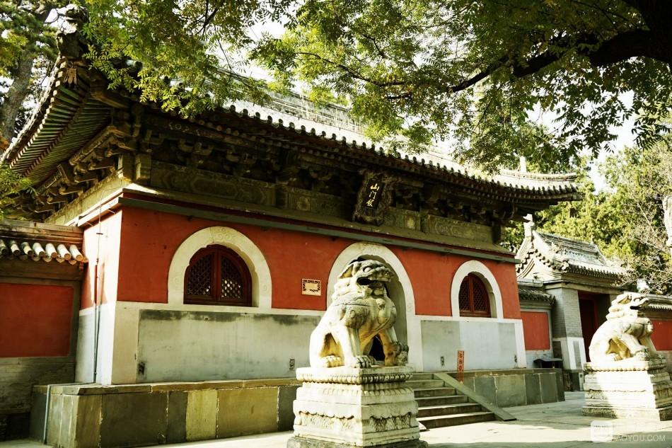 秋日游览拍摄戒台寺