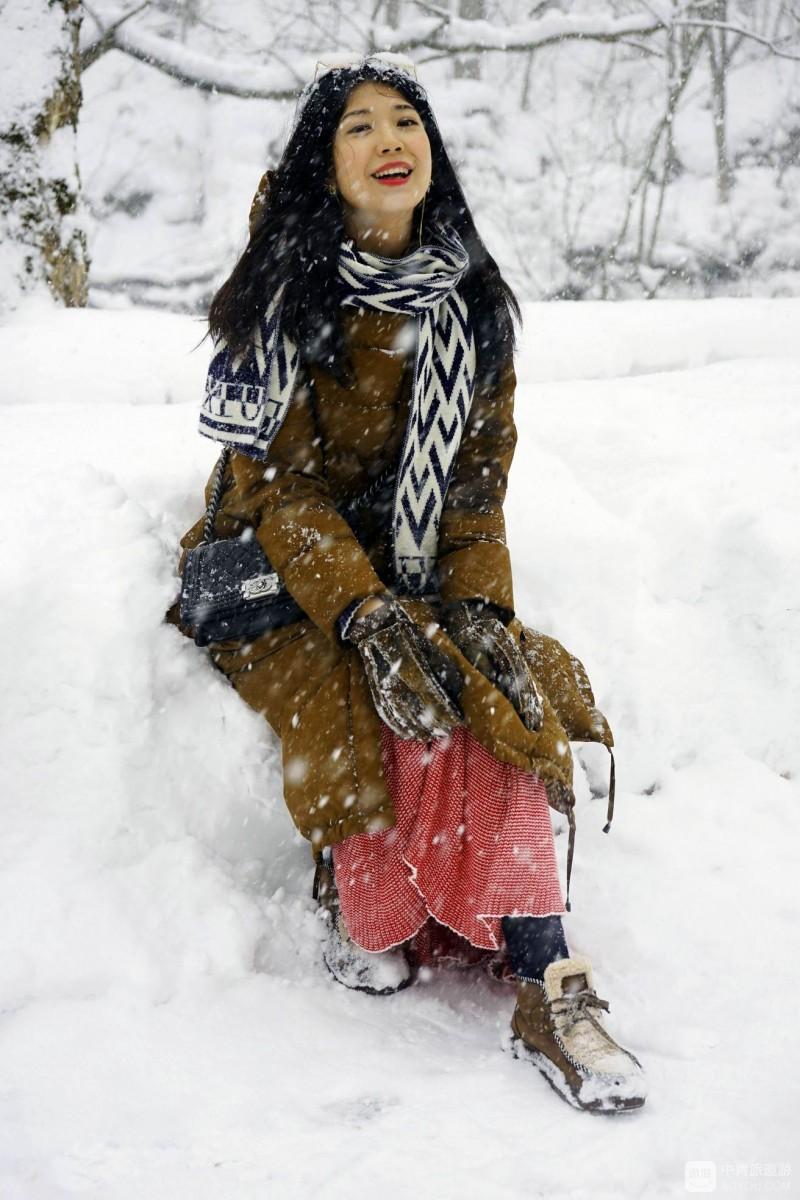 北海道游记之一:冬天的奥入濑溪流