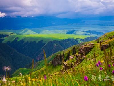 历史上解忧公主下嫁的乌孙国,原来在伊犁这块空中草原