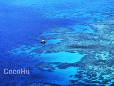 上天下海 一睹大堡礁全貌