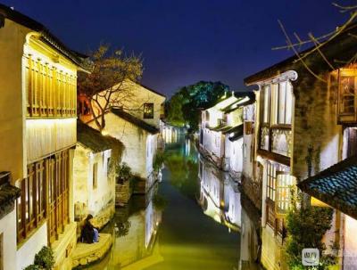 夜游周庄水巷,赏阅迷人风情