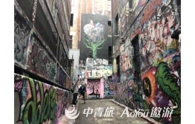 墨尔本街景:涂鸦街