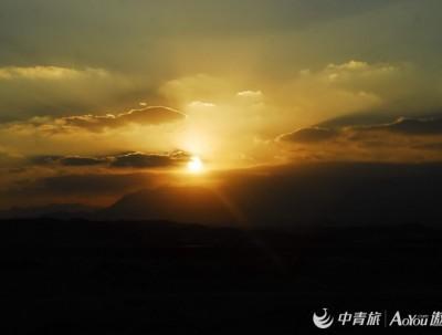 游埃及之影像记录(十七、大漠日落)