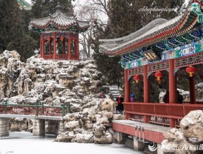 雪是皇家园林的绝配