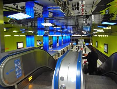 慕尼黑 Münchner Freiheit地铁站
