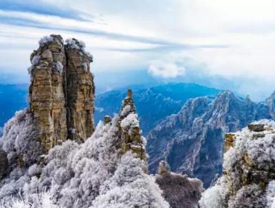 京郊绝美雪域王国,新年赶赴白石山冰雪季!