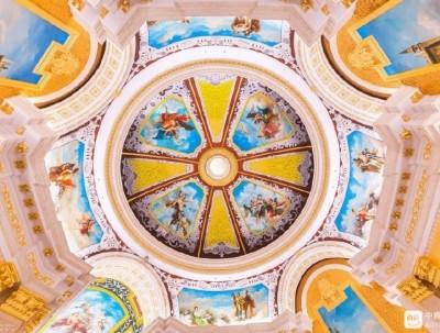 当梵蒂冈的西斯廷拱廊,遇上千年古城泰州