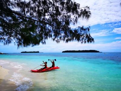 雅加达千岛群岛之小众而绝美的塞帕岛