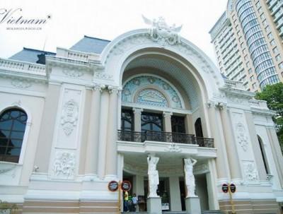 胡志明市的历史文化遗产——西贡歌剧院