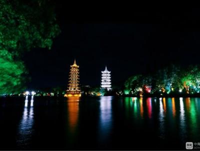 桂林 阳朔夜景