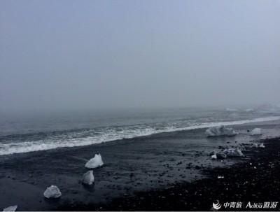 见过冰岛的黑沙滩和????沙滩吗????️