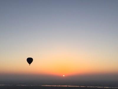 一生一次热气球