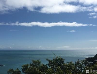 美丽的西海岸沿途风景