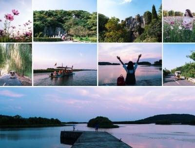 慢游苏州太湖三山岛,看最美太湖日落