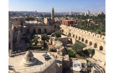 以色列之旅:耶路撒冷---大卫塔、橄榄山