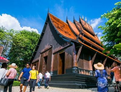 传说中的泰国白庙黑庙,其实不是庙