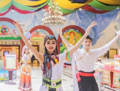 不用远去西藏,也能在杭州感受藏族特色节日雪顿节