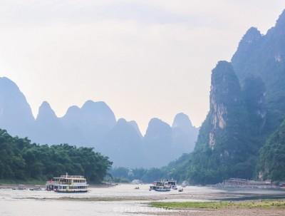 漓江畔的歌声,千古情的浪漫,八月再遇桂林山水