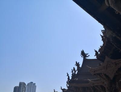 世界上最大的全木质寺庙——泰国芭提雅真理寺