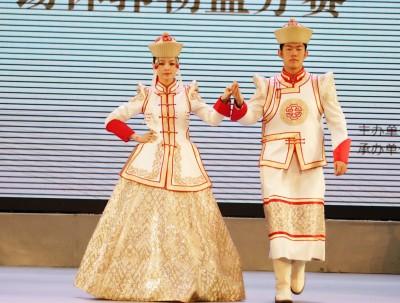 蒙古族服装服饰艺术节,蒙古袍华丽变身怪不得网红都喜...