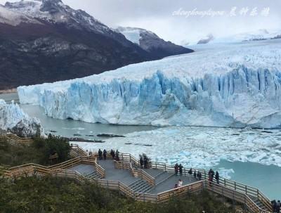 世界最不费力可见的大冰川在阿根廷