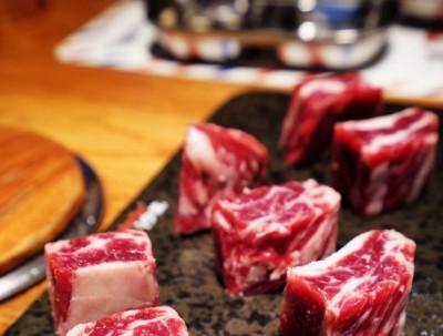 平安道里吃黑毛和牛大餐!