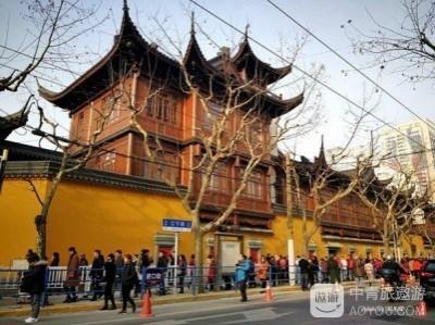 上海,从来没如此安静过(四,玉佛寺祈福)