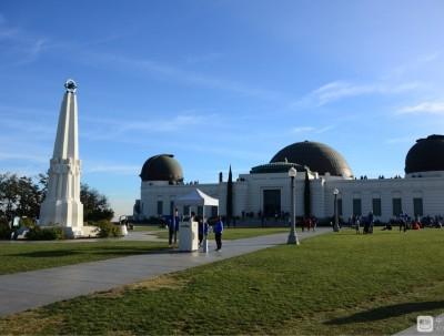 登格里菲斯天文台远眺洛杉矶全景
