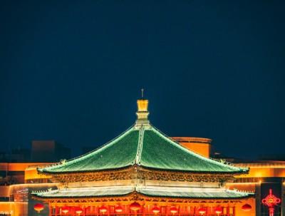 西安年,最中国,摄影吃货沉迷在西安夜景和美食的日子里