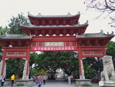 惠州西湖,可以媲美杭州西湖