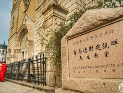 青岛天主教堂,基督教建筑艺术的杰作