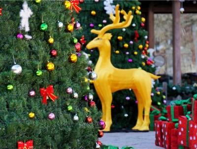 古北水镇过圣诞,看巡游表演在教堂唱诗,充满温情才圆满
