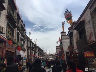 西藏之行---拉萨八廓街