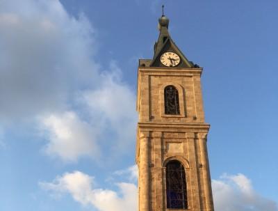 雅法老城-钟楼